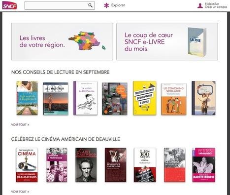 L'offre de lecture streaming SNCF e-LIVRE revue : moins d'ebooks, mais gratuits | numérique | Scoop.it
