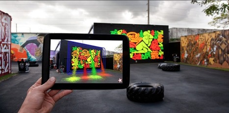 Rethinking Public Space: B.C. Biermann's Augmented Reality Urban Art | Art for art's sake... | Scoop.it