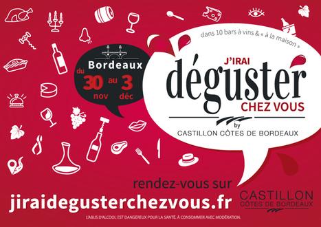 J'irai déguster chez vous' : la 2ème édition à Bordeaux ! | My wine, heritage and communication press review | Scoop.it
