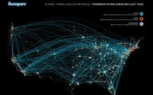 Foursquare Checkins Reveal Holiday Travel Patterns [INFOGRAPHIC] | Consumer Engagement Marketing | Scoop.it