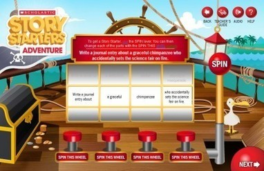 Edutech for Teachers » Blog Archive » Create Fun Fiction with Scholastic's Story Starters | Digital Storytelling Tools, Apps and Ideas | Scoop.it