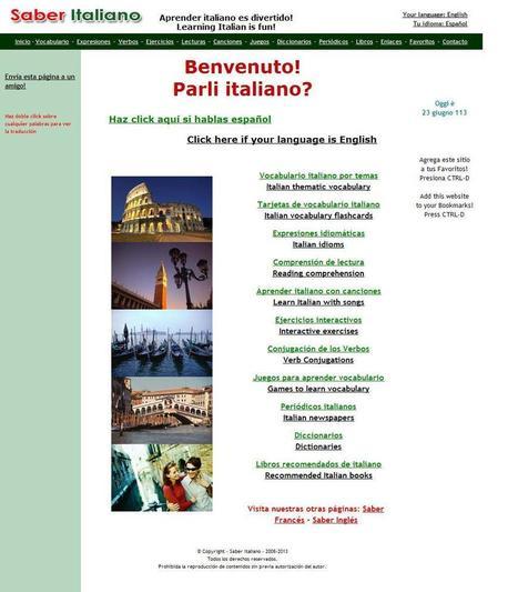 Sitios web para realizar cursos de italiano. Parte 1. - Aprende Idiomas   Recursos Educativos Abiertos   Scoop.it
