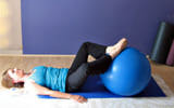 Hip Opening with the Exercise Ball | Breath Deep Pilates | Scoop.it