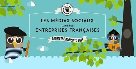 Les médias sociaux dans les entreprises françaises - Infographie I Yann Gourvennec | Going social | Scoop.it