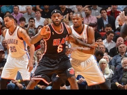 Kevin Durant and LeBron James Combine for 14 Point | emarketad | Scoop.it