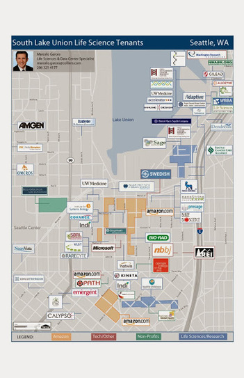 Seattle Office Spaces: Seattle Life Science Office Update | Seattle Commercial Real Estate | Scoop.it