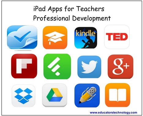 Indispensable iPad Apps for Teachers Professional Development | Technology in Education | Scoop.it