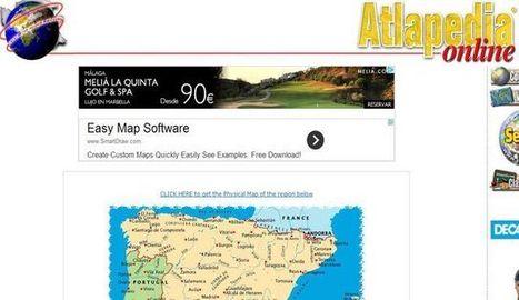Atlapedia, mapas físicos y políticos de todos los países del mundo | MECIX | Scoop.it