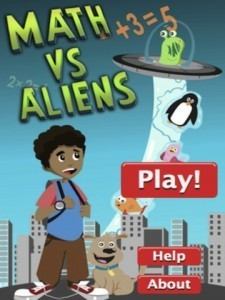 Math Games: Math vs. Aliens App | cool math games for kids | Scoop.it