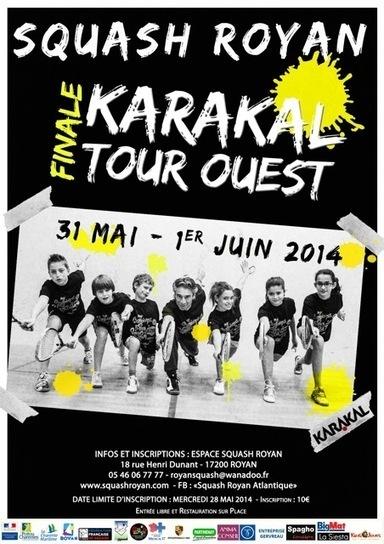 Karakal Tour / Etape finale à Royan !! | Tennis , actualites et buzz avec fasto-sport.com | Scoop.it