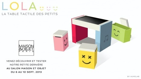 HUMElab, Les tables tactiles Multitouch innovantes | Techno tous azimuts | Scoop.it