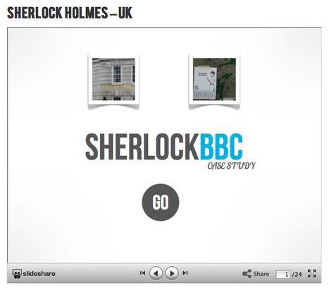 #Transmedia Case Study on BBC Sherlock Holmes - TMC Resource Kit | 3D animation transmedia | Scoop.it