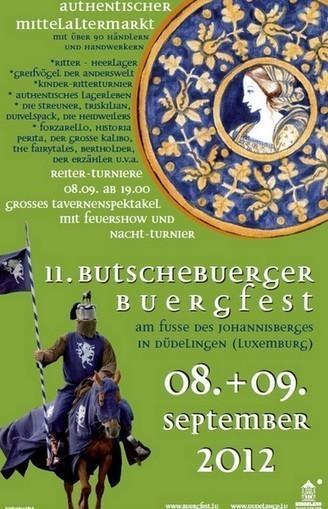 Fête médiévale Butschebuerger Buergfest - Dudelange 2012 | Luxembourg (Europe) | Scoop.it
