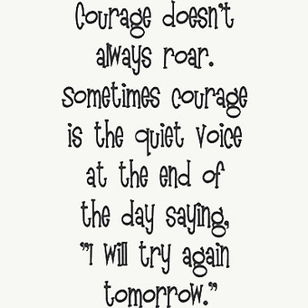 Creativity Takes Courage: 5 Ways To Build Your Courage | Creative Life-The Artist's Way | Scoop.it
