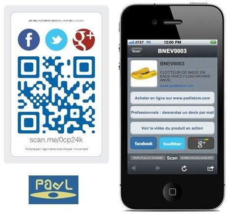 Le PadLStore et les QR codes - La boutique en ligne - PadL | Revue de presse pour commerçants connectés | Scoop.it