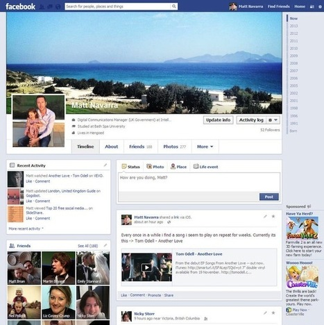 Facebook continues to test variations of Timeline layout   24h00-SocialMedia   Scoop.it