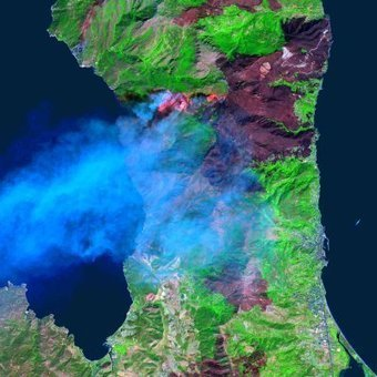 Mapping the burned areas to help heal the scars and prevent future fires - Thanks to Space | Astrium | Remote Sensing News | Scoop.it