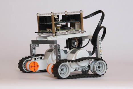 BrickPi Combines A Raspberry Pi And Lego To Create Awesome Robots - Geeky gadgets | Lego Mindstorms | Scoop.it