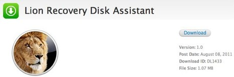 Apple Releases Utility to Create Lion Recovery USB Key | iOS development | Scoop.it