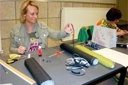 Femma Tuilt maakt juwelen uit papier - Het Belang van Limburg | Femma maakt het | Scoop.it