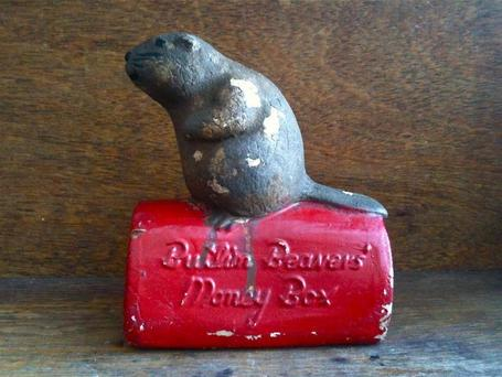 Vintage English Beaver Money Box | Sex Work | Scoop.it