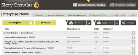 Search and Curate News Stories on Specific Topics with StoryCrawler | Content Curation World | Scoop.it