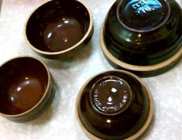 Vintage Brown Stoneware Bowls | Antiques & Vintage Collectibles | Scoop.it