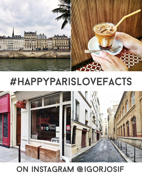 Happy Interior Blog: From Place To Space: Paris Love Facts On Instagram | Interior Design & Decoration | Scoop.it