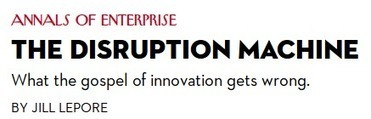 A Business Model Innovation Factory Trumps a 'Disruption Machine ... | Operational Excellence | Scoop.it