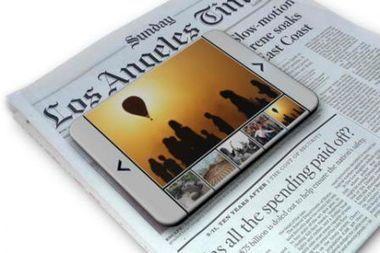 Le LA Time propose une version papier en réalité augmentée grâce à l'iPad | Actualité Apple | G.pommier | Scoop.it