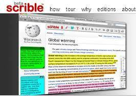 scrible | smarter online research - annotate, organize & collaborate on web pages | K12, HE, NGOs, Non-Profits: INFORMATION LITERACY | Scoop.it