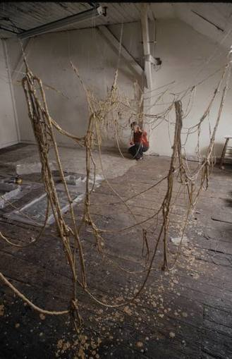 Eva Hesse, No titre | Art Installations, Sculpture, Contemporary Art | Scoop.it