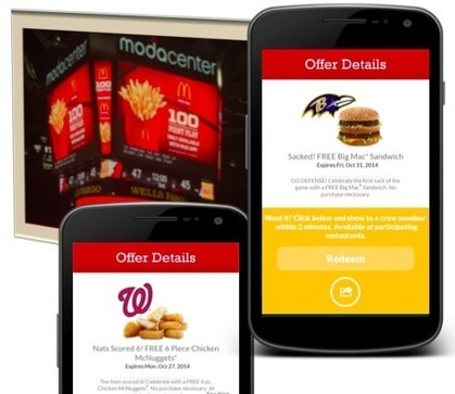 Coupons Mobile McDonald's US : un taux d'activation x 8 sur les sportifs ! | Retail Innovation | Scoop.it