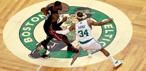 LeBron James peca em lance decisivo, é excluído por faltas e Heat cede empate aos Celtics | esportes | Scoop.it
