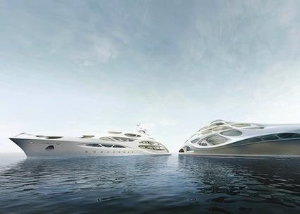 New Interior Photos of Zaha Hadid's Modern Superyachts | Detailed Look - stupidDOPE.com | Design | Scoop.it