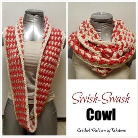 Swish-Swash Cowl - CrochetN'Crafts | Free Crochet Patterns | Scoop.it