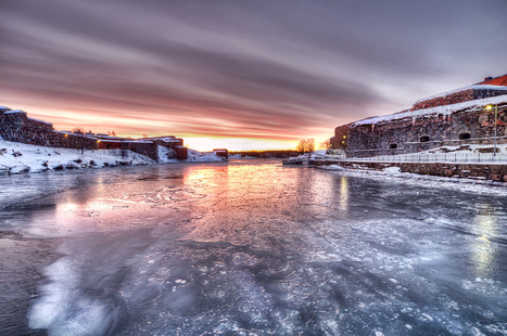 Photo of the Moment: Sunrise at Finland's Frozen Fortress, Helsinki | Travel Photography | Scoop.it