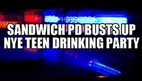 Sandwich police bust up underage New Year's Eve drinking party - Cape Cod Today | natasha year 9 journal | Scoop.it