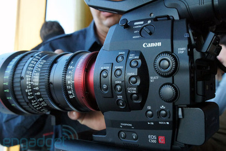 Canon Cinema EOS C500 camera hands-on (video) | FOTOGRAFIA Y VIDEO HDSLR PHOTOGRAPHY & VIDEO | Scoop.it