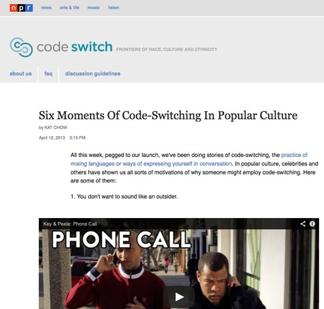 codeswitch : NPR | Curricular Connections | Scoop.it