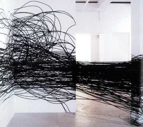 Monika Grzymala: Drawings in Space | Art Installations, Sculpture, Contemporary Art | Scoop.it