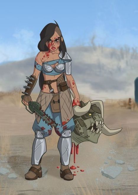 Disney Princesses Reimagined as Fallout Characters | WTF Posts | Scoop.it