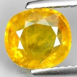 Natural Thailand Yellow Sapphire 2.32ct - Rawa-Bening.Com | Toko Bagus | Scoop.it
