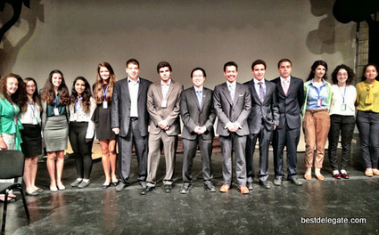 From California to Qatar: Best Delegate Kicks Off Summer Tour with ... | Online Model United Nations | Scoop.it
