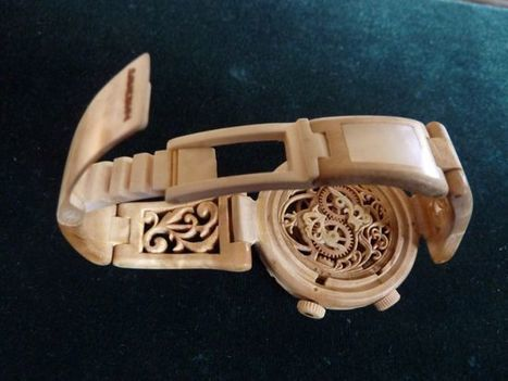 The Mind-Blowing Wooden Wristwatches of Valerii Danevych | Strange days indeed... | Scoop.it