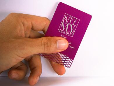 la cuisine du graphiste: Cartes de visite métalliques   carte de visite mania   Scoop.it