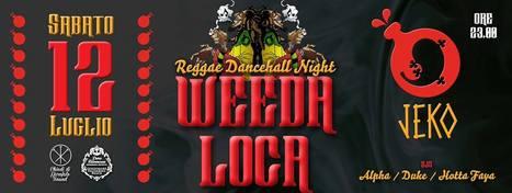 #jeko Reggae Dancehall night party sabato12 luglio 2014 | Jeko Beerchalet Ancona | Scoop.it