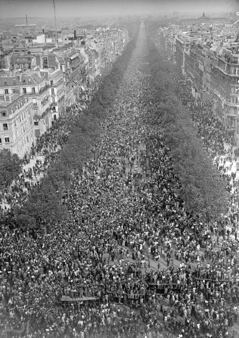 Le 8 mai 1945 : Paris était une fête | Histoire de France | Scoop.it