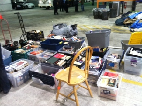 UPDATE: State of Seized Library | #OccupyWallstreet | Scoop.it