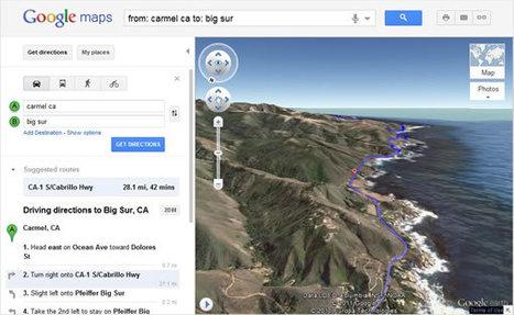 Superbe : la nouvelle vue hélicoptère sur Google Maps | toute l'info sur Google | Scoop.it
